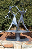 Dancing Family - Two Children - With Pedestal