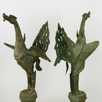 Antique Nark Puggsin - Bronze - Pair