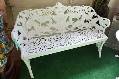 Estate Aged Fern Bench - Circa 1928 - Madeira Collection