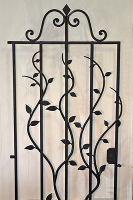 Old Wrought Iron Gate From Portugal
