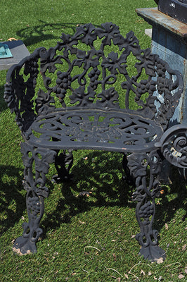Estate Aged Grape Chairs