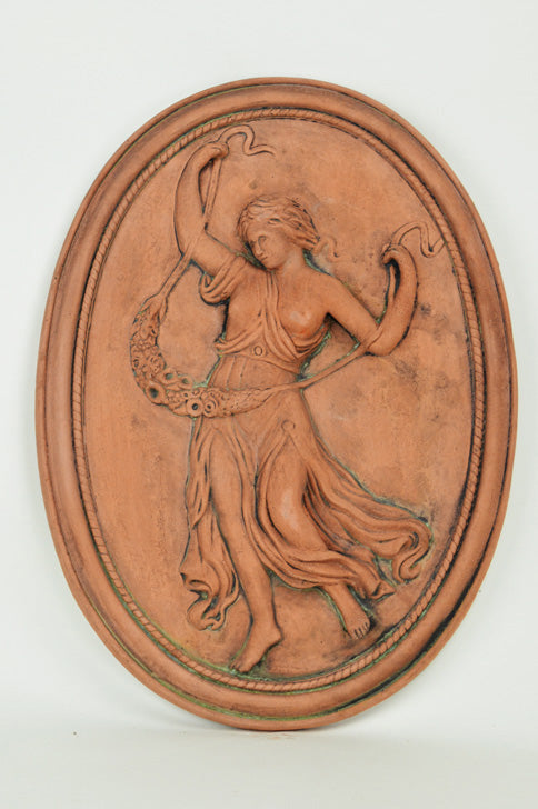 Dancing Lady Plaque