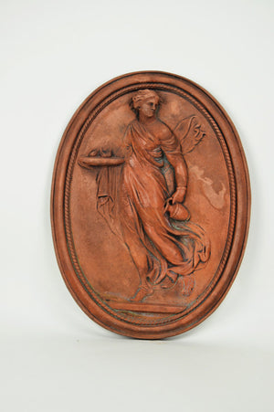 Serving Lady Plaque