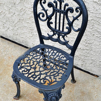 Antique Iron Chair