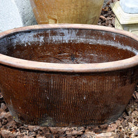 Large Oval Water Pot