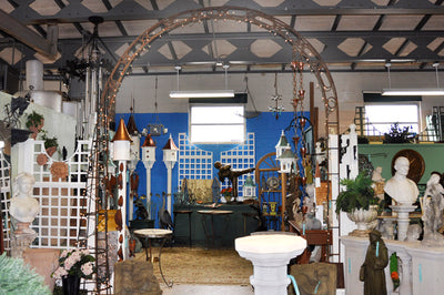 Antique Iron Arch