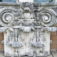 Carved Stone Architectural Element