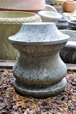 Carved Stone Reel - Pedestal - 16