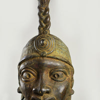 Antique Benin Bronze Figure