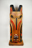Eagle and Raven Totem by William Kuhnley Sr.