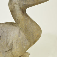 Carved Stone Duck