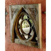 English Tracery Outdoor Mirror