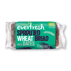Sprouted WheatDate Bread Organic