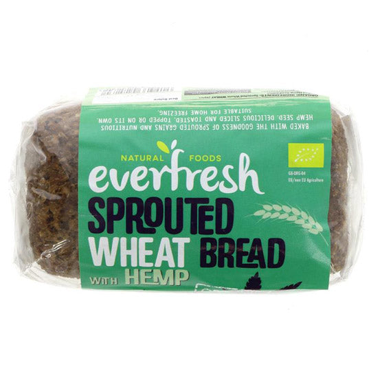 Sprouted Wheat Hemp Bread
