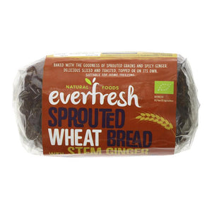 Sprouted Wheat & Stem Ginger Bread Organic