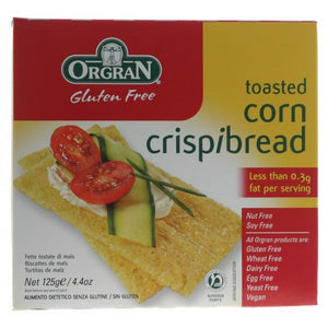 Toasted Corn Crispbread