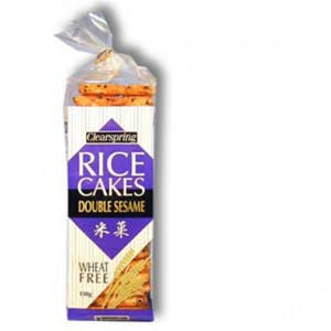 Double Sesame Rice Crackers Organic