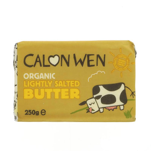 Lightly Salted  Welsh Butter Organic PRICE CHECK