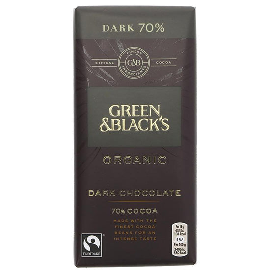 Dark (70%) Chocolate Bar Organic PRICE CHECK