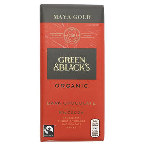 Maya Gold Dark Chocolate Bar Organic
