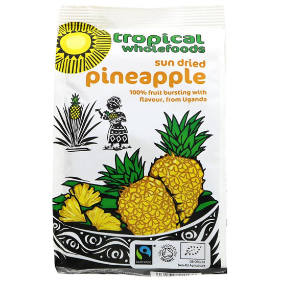 Pineapple Sun Dried Organic