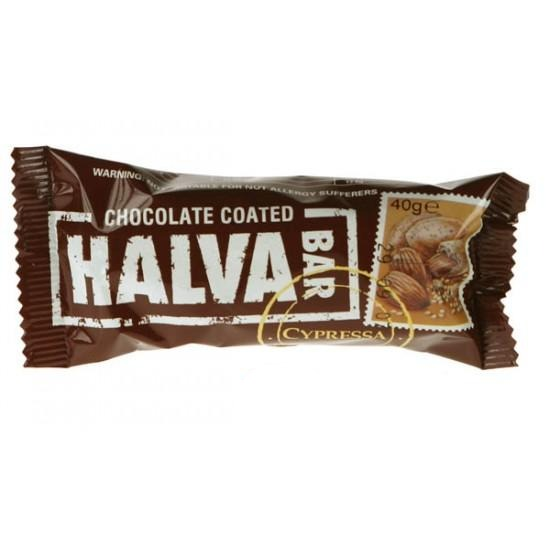 Chocolate Almond Halva Bar