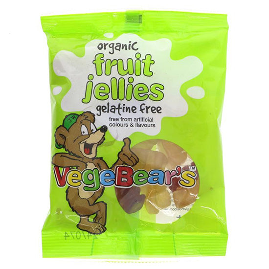 Vegebears Fruit Jellies