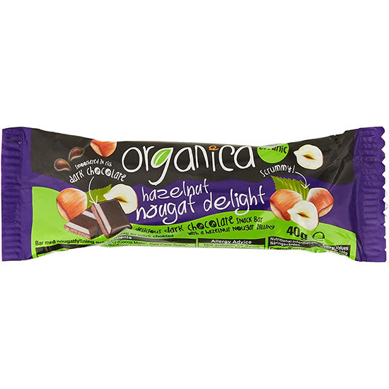 Chocolate & Hazel Bar Organic