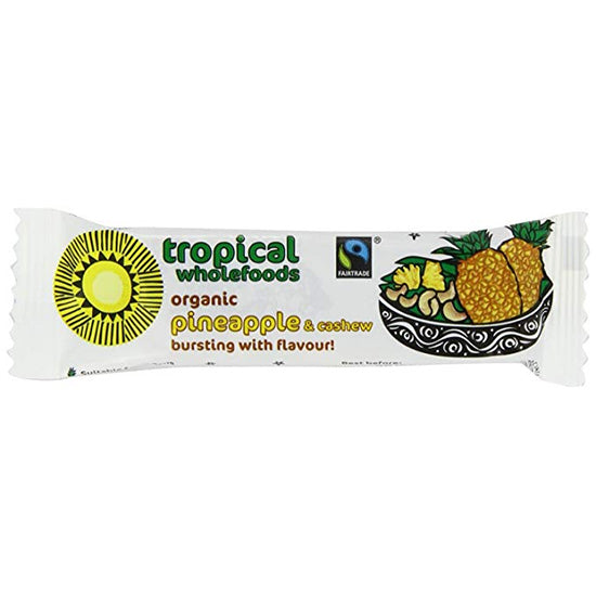 Pineapple & Cashew Bar Organic