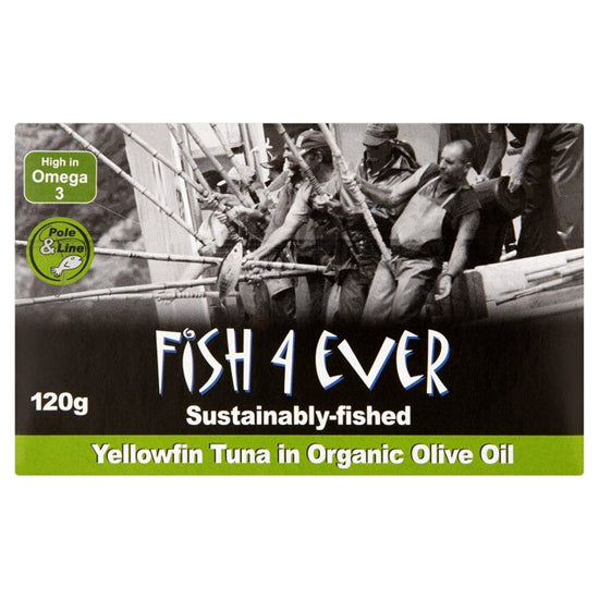Yellowfin Tuna in Organic Olive Oil