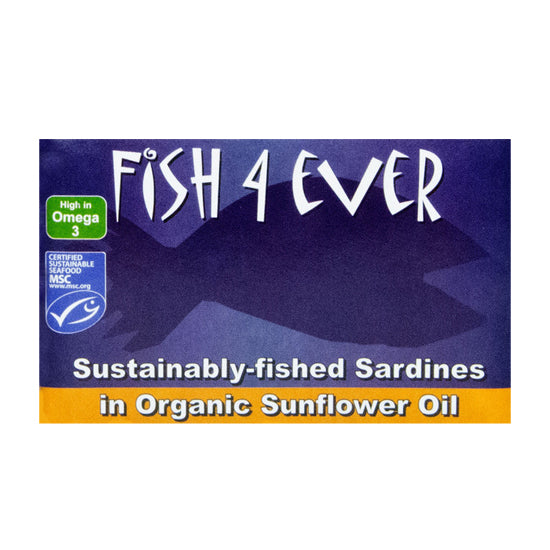 Sardines in Organic Sunflower Oil