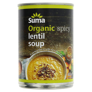 Spicy Lentil Soup Tinned Organic