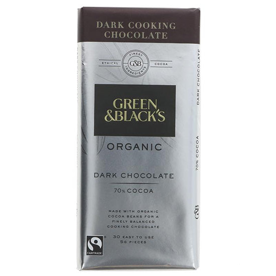 Cooking Chocolate Dark Organic