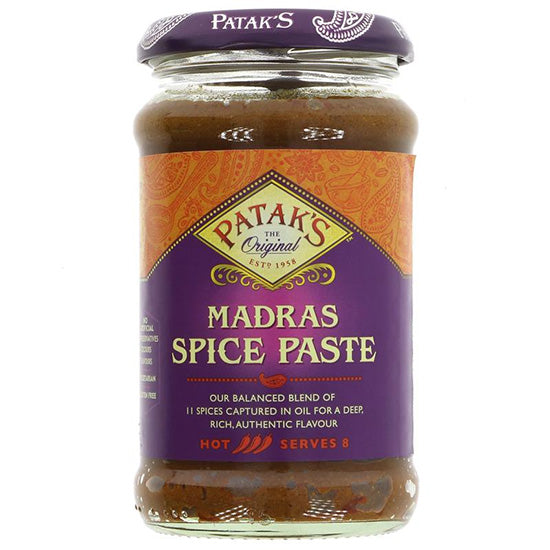 Madras Hot Curry Paste