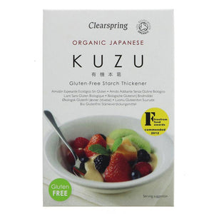 Kuzu Root Starch Organic