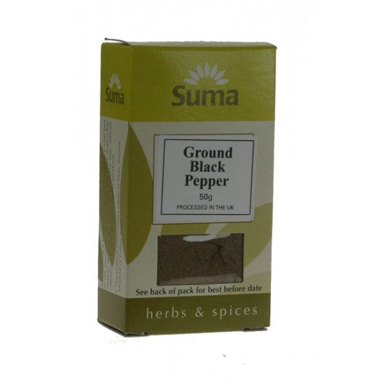 Black Pepper Ground