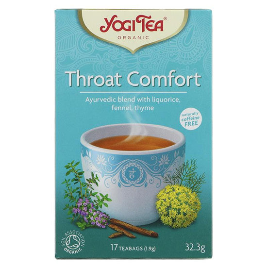 Throat Tea Ayervedic Organic