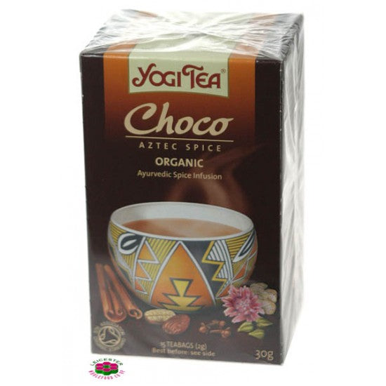 Chocolate Ayervedic Tea Organic