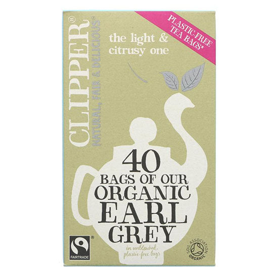 Earl Grey Fairtrade Tea Bags Organic
