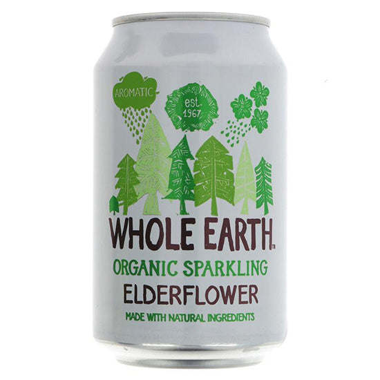 Sparkling Elderflower Organic Can