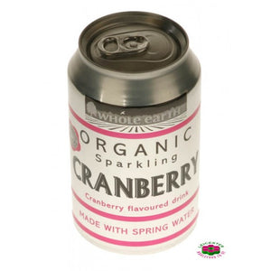 Mountain Cranberry Organic Can