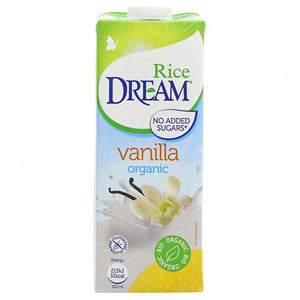 Organic Rice Milk Vanilla