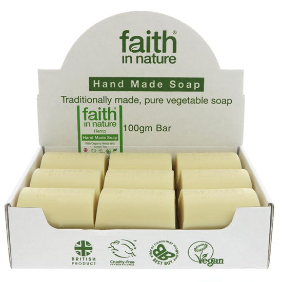 Hemp & Lemongrass Soap Loose