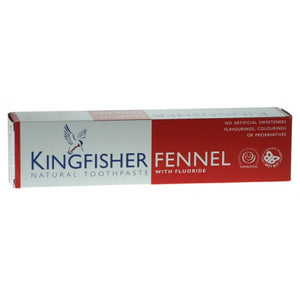 Fennel toothpaste with fluoride