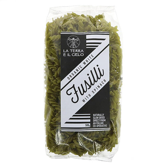 Fusilli with Spinach (spirals) Organic
