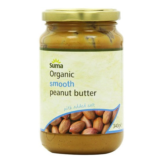 Peanut Butter Organic Smooth + Salt