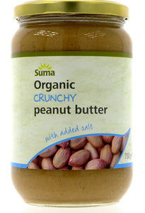 Peanut Butter Smooth + Salt Organic