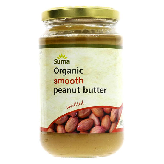 Peanut Butter smooth no salt Organic