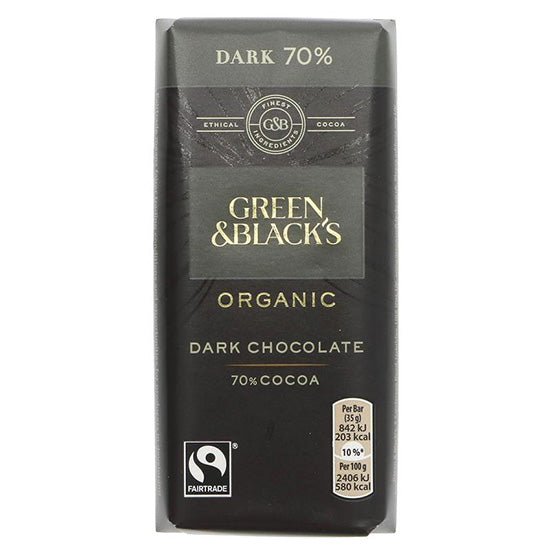 Dark Chocolate Bar Organic