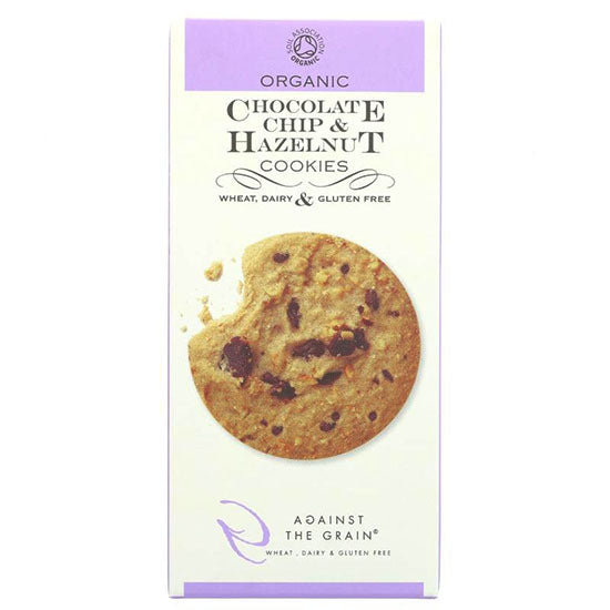 Chocolate Chip & Hazelnut  Gluten free Cookie Organic